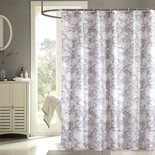 Moldiy Modern Trend Marbling Pattern Bathroom Shower Curtain