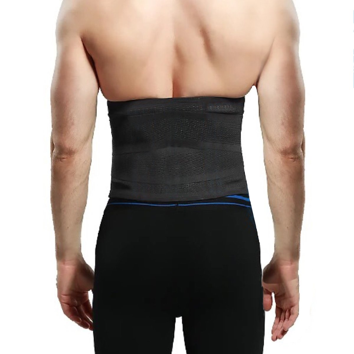 be0a2d980c555 Haseil Men s Slimming Waist Trainer Lower Back Gym Burn Fat Trimmmer Body  Shaper at Amazon Men s Clothing store