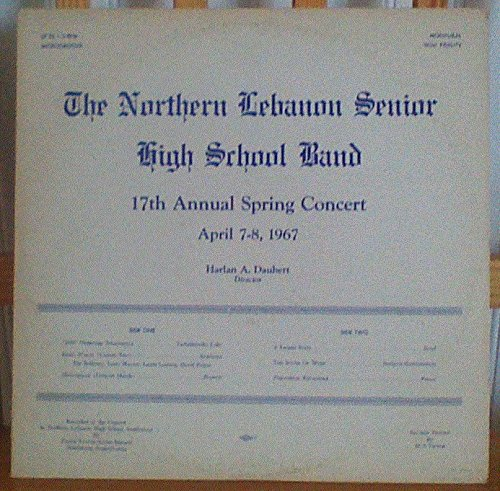 The Northern Lebanon Senior High School Band 17th Annual Spring Concert, April 7-8, - Springs Lebanon