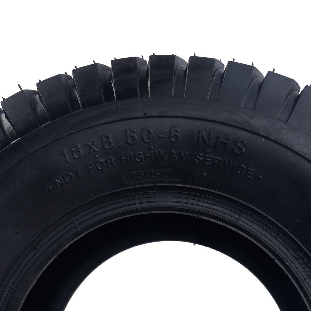 2x 18x8.50-8 Turf Saver Lawn & Garden Tire 4PR Lawn Mower Golf Cart Tires by Motorhot (Image #9)