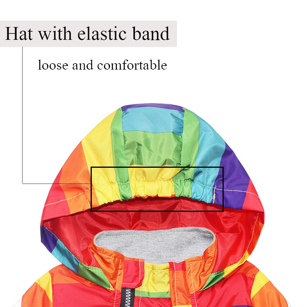 Little Boy Zipper Hooded Jacket,Cool Cartoon Dinosaur Print Long Sleeve Windproof Casual Outerwear
