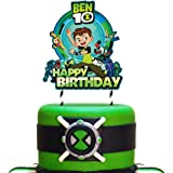 Decorations for Ben 10 Cake Topper Birthday Party Topper for Children