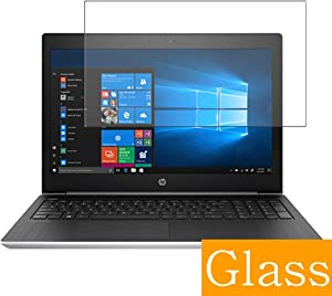 """Synvy Tempered Glass Screen Protector for HP ProBook 455 G5 15.6"""" Visible Area Protective Screen Film Protectors 9H Anti-Scratch Bubble Free"""