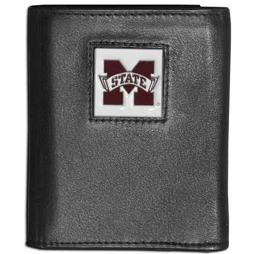 (NCAA Mississippi State Bulldogs Leather Tri-Fold)