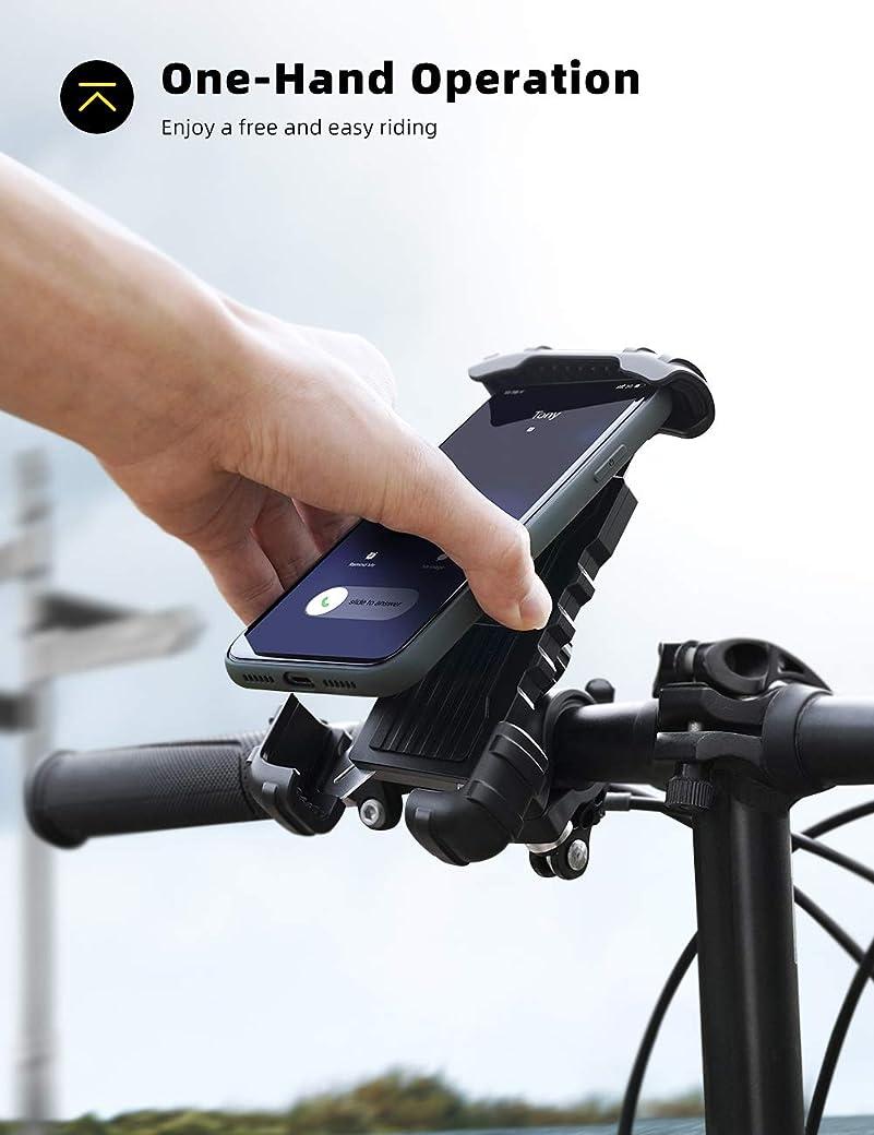 Lamicall Soporte para Móvil Bicicleta BM02 EU B - El Mejor Soporte para Móvil Bicicleta del Merado