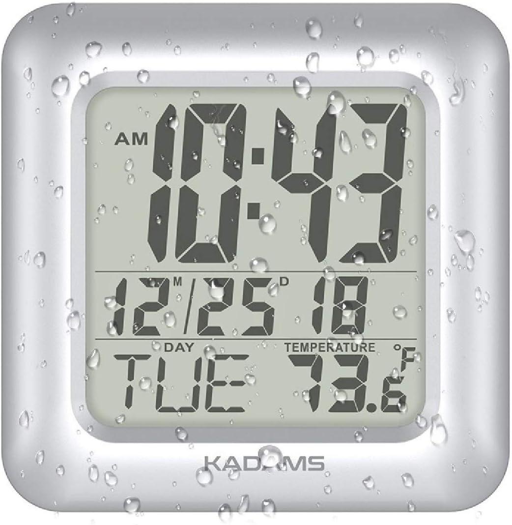 KADAMS Digital Shower Wall Clock