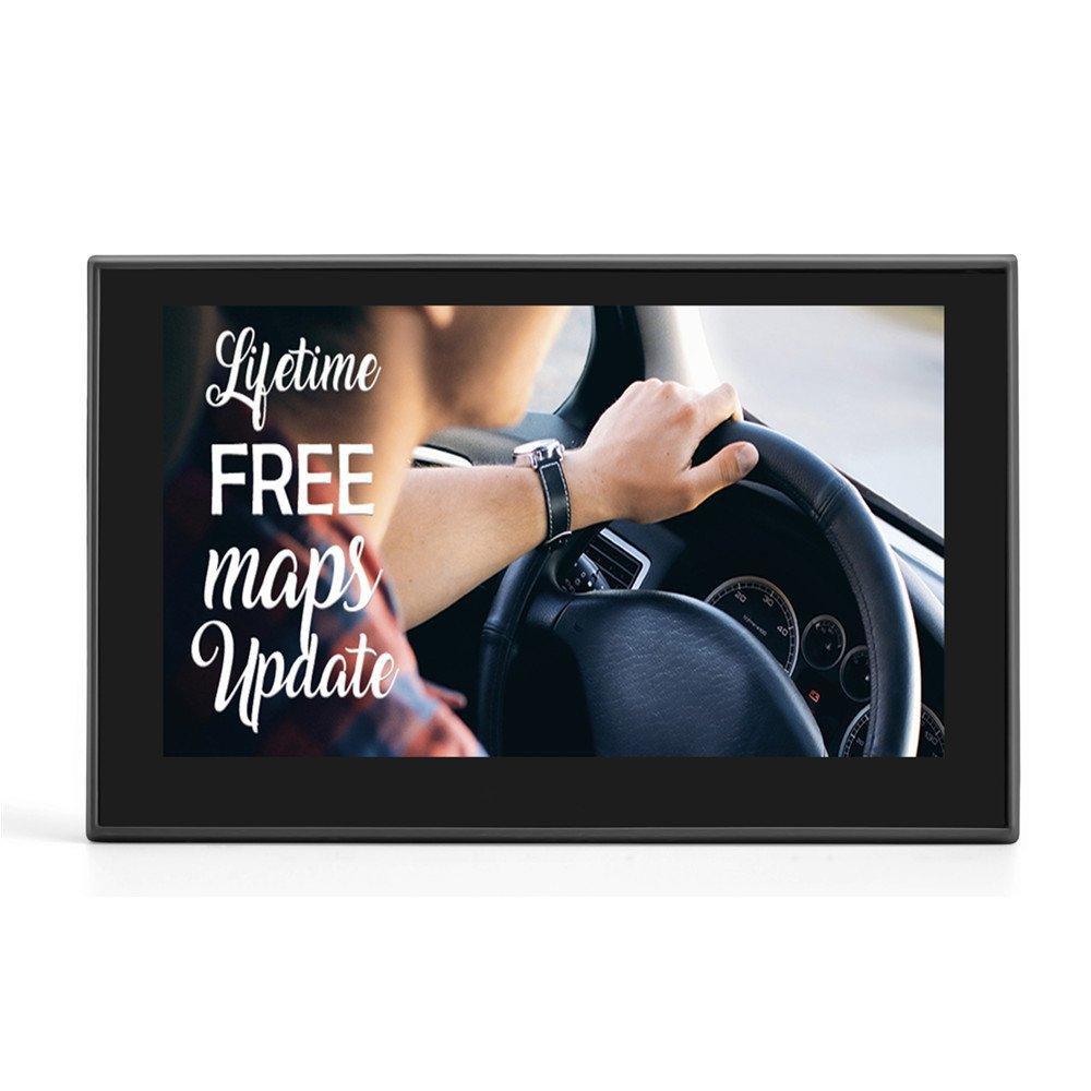 OHREX Classic 511 Navegador GPS para Camiones Coche de 5 Pulgadas avisador de radaresasistencia de Carril con actualizaciones Gratis de por Vida de mapas de ...