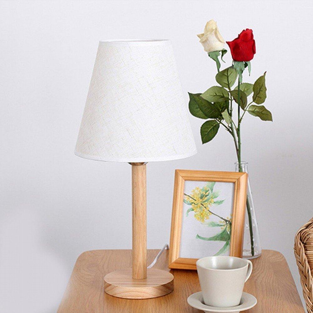 AN Nordic minimalista casa log lampada creativa studio caldo camera da letto camera da letto comodino lampada da scrivania in legno,UN,120  450 milli