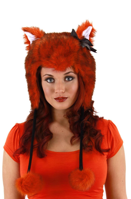 Fox Hoodie Hat Costume Accessory Elope 618480007749