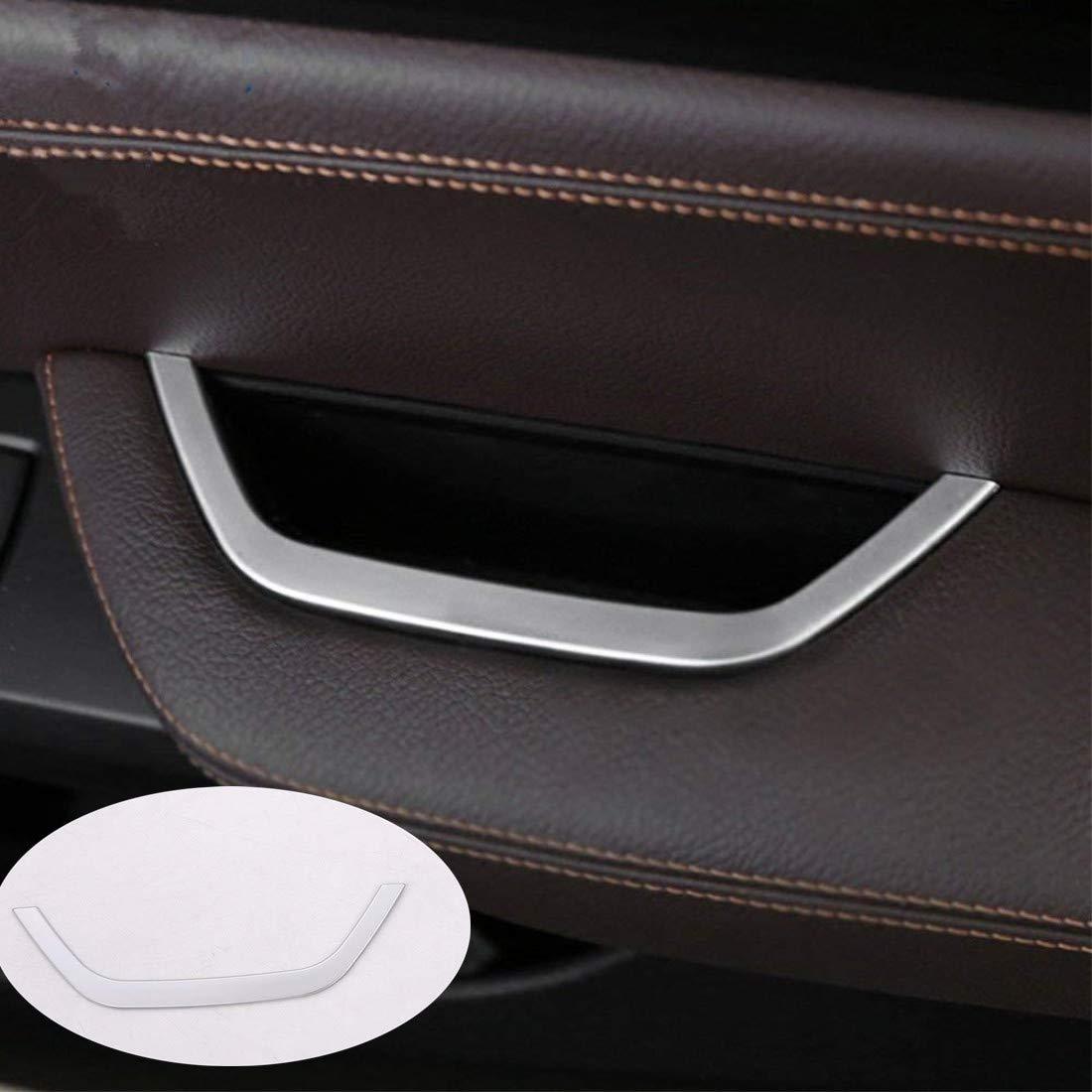 car-styling ABS cromato opaco decorazione interna 26 strisce auto porta Storage box Trim accessori per X3 F25 2011 –  2016/X4 F26 2013 –  16 Luxuqo