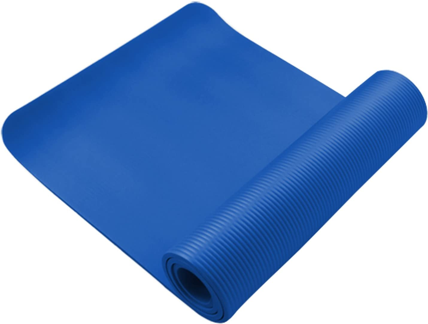 61 x 183cm Yoga Mat 10mm Thick Gym Exercise Fitness Pilates Workout Mat Non Slip