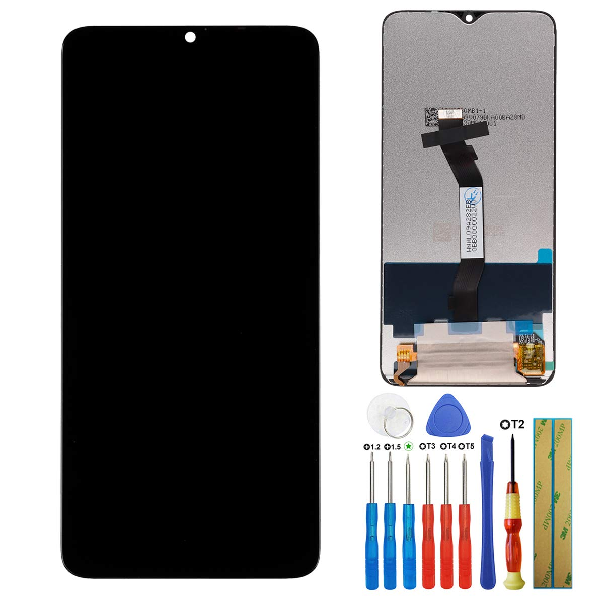 Modulo LCD Negro para Xiaomi Redmi Note 8 Pro M1906G7I M1906