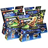 Warner Home Video -LEGO Dimensions Bundle: DC Comics Team Pack, DC Bane Fun Pack, DC Wonder Woman Fun Pack, DC Cyborg Fun Pack and a bonus surprise Fun Pack!
