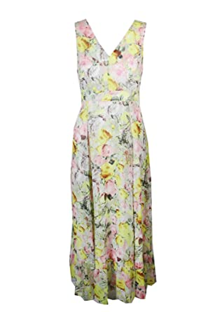 aa1a23e6b96 Image Unavailable. Image not available for. Color  INC International  Concepts Petite Floral-Print Maxi Dress