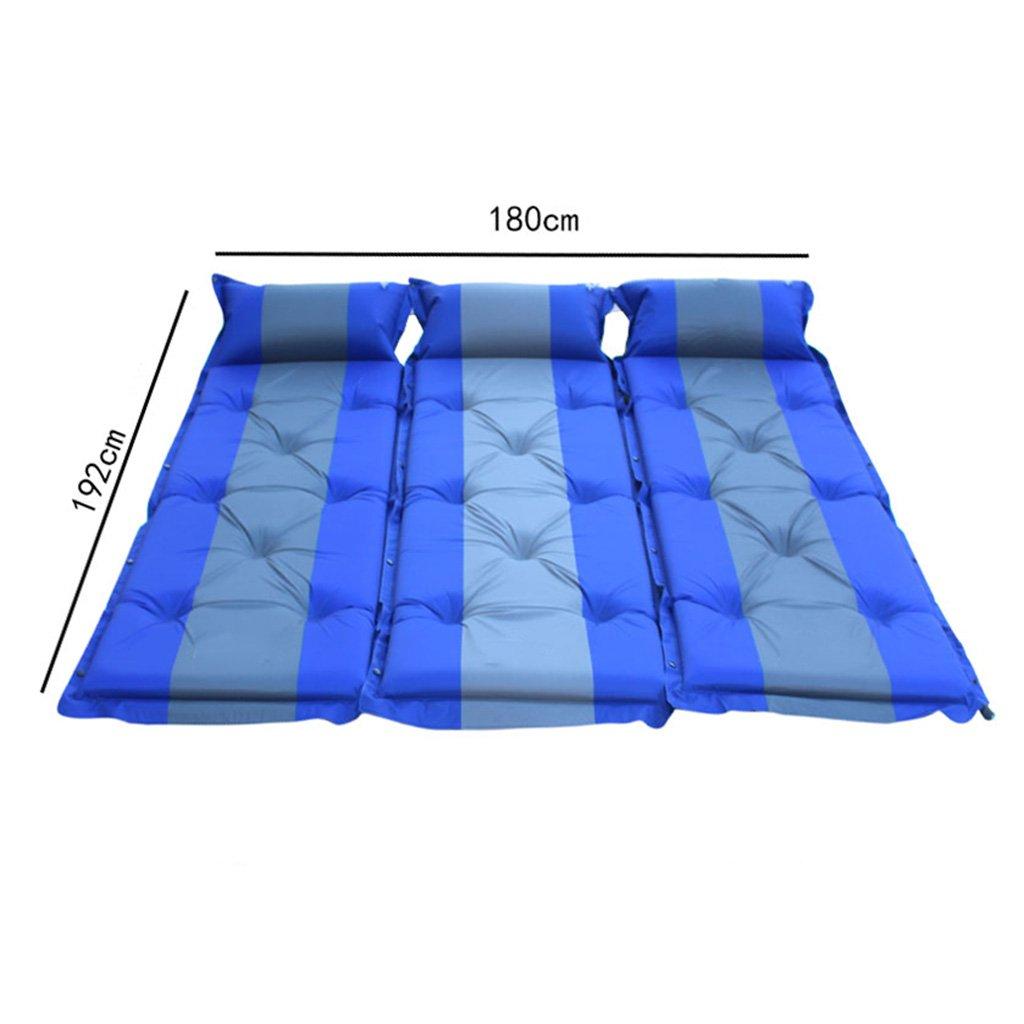 YOTA HOME Picknick-Matte Befeuchtende Auflage-automatische Aufblasbare Kampierende Isomatte, Die Im Freien Tragbare Zelt-Mittagspause-Schlafen-Auflage Faltet Picknickdecken