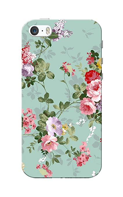 9733c38cd Caseria Floral Slim Fit Hard Case Cover  Amazon.in  Electronics