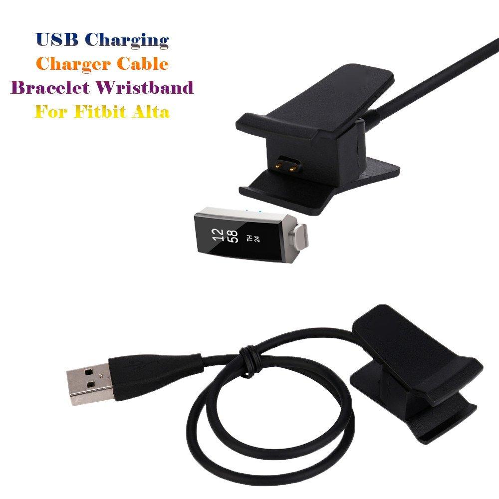 Amazon.com: Kiorc - Cable cargador USB para pulsera Fitbit ...
