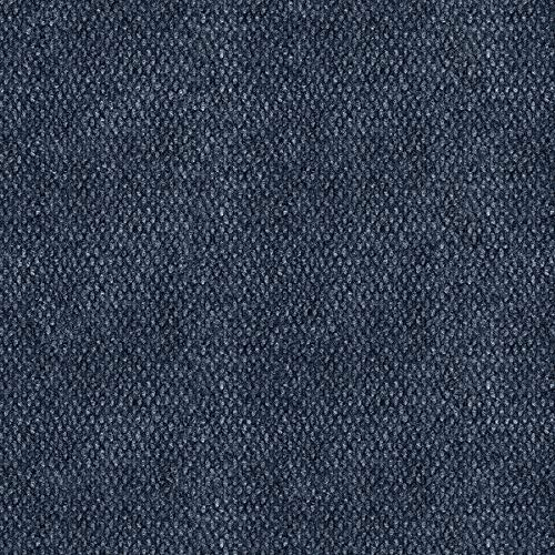 """IncStores Hobnail and Ribbed Carpet Tiles Residential Flooring Self Adhering 18""""x18"""" Peel and Stick - Hobnail Ocean Blue"""
