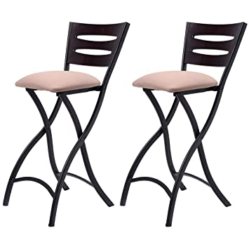folding bar stools 24 inch wooden uk set counter height bistro dining kitchen pub chair ikea sale