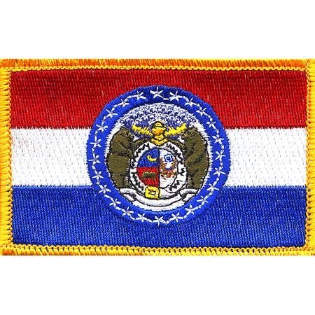 Missouri State Flag Patch