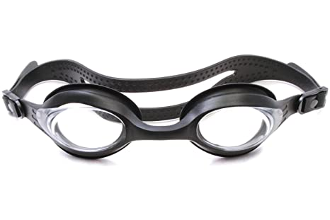 5cb5726c78ab Image Unavailable. Image not available for. Color  Splaqua Black Original Swim  Goggle with Prescription Lens ...