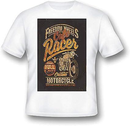 Café Racer T Camisa, hombre, MOTO, Motero, retro, regalo, clásico, 9: Amazon.es: Ropa y accesorios