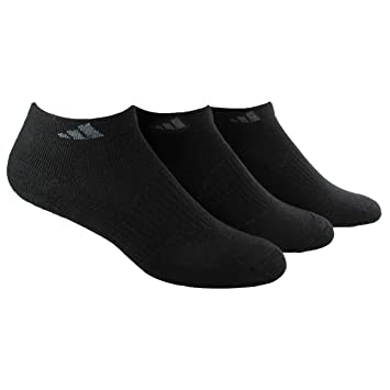 adidas Women's Cushioned 3pk Low Cut Sock Black