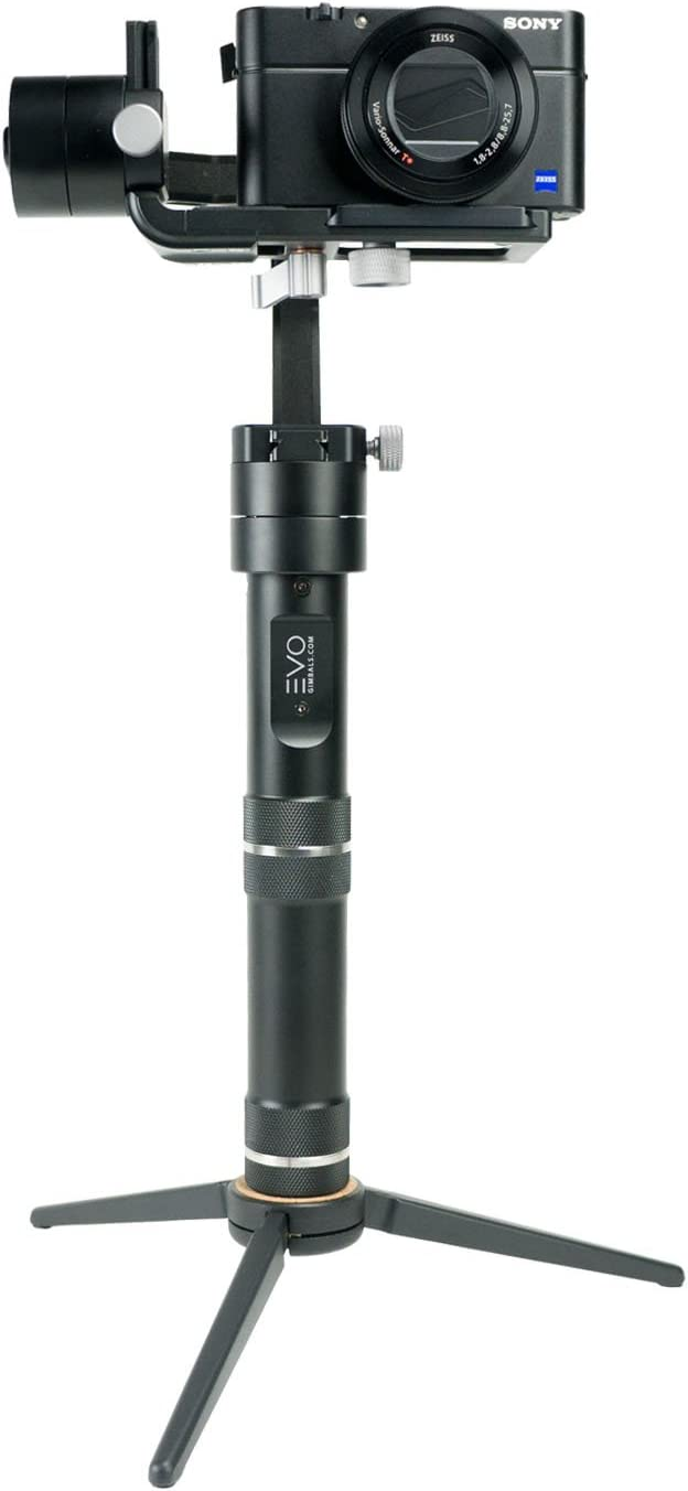 Works with Most Cameras EVO GS-150 Mini Professional Tripod with Swivel Ball Head 100/% Aluminum