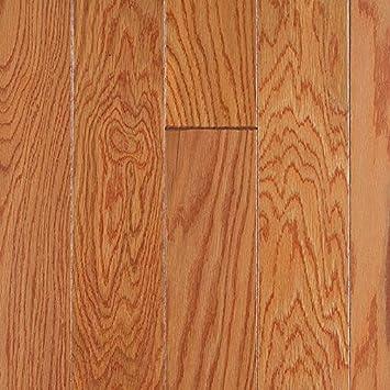 Mohawk Santa Barbara 5quot Engineered Wood Plank Oak Golden