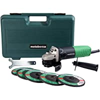 Deals on Metabo HPT 4-1/2-in Sliding Switch Corded Angle Grinder
