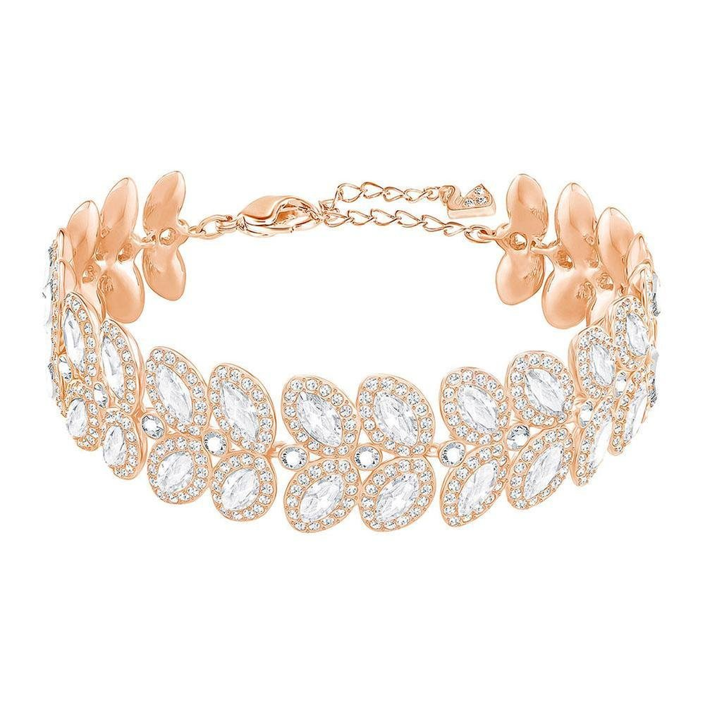 Swarovski Crystal Baron Rose Gold-Plated Bracelet