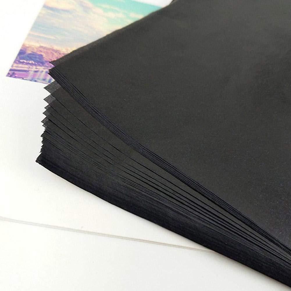 9,06 12,99 Pollici 25 Fogli di Carta Carbone di Grafite Carta Carbone per trasferimento di Grafite Carta da Lucido Formato 23 33 cm