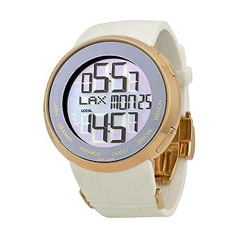 6f3c1938101 Gucci Women s I-Special Latin Grammy 44MM Rubber Band Quartz Watch  YA114225  Amazon.co.uk  Watches