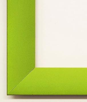 Bilderrahmen Hammel Burg Velvet Varnish Light U2013 Green, Spine Dark Green  3.0, Exchangeable Frame