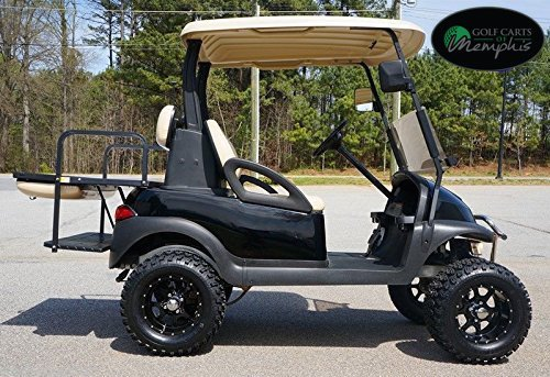 Club Car Precedent Golf Cart 6 Spindle Lift Kit 12 Steeleng Kraken Wheels And 23 All Terrain Tires Golf Cart Not Included