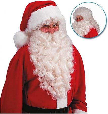 Babbo Natale Horror.Horror Shop Parrucca Babbo Natale Con La Barba 60 Centimetri Amazon It Giochi E Giocattoli