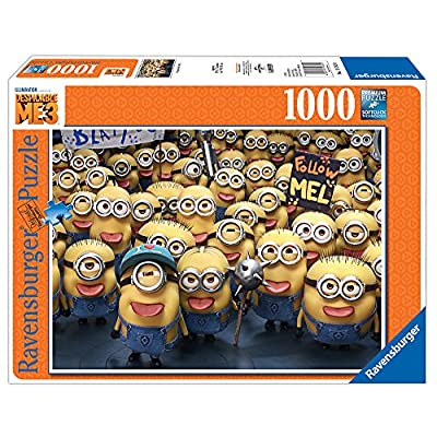 Ravensburger Universal: Despicable Me3 1000 Piece Jigsaw Puzzle for Adults – Every Piece is Unique, Softclick Technology Means Pieces Fit Together Perfectly: Toys & Games