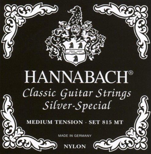 Hannabach 815MT Medium Tension, Full Set Classical Guitar...