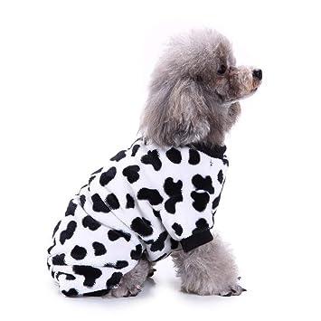 ELLANM Artículos para Mascotas Ropa para Perros Ropa para el hogar Ropa para Mascotas Pijamas Ropa