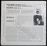 Poeme, Havanaise, Introduction and Rondo Capriccioso (Vinyl LP)