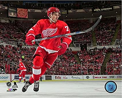 1b63b2219da Amazon.com  Dylan Larkin Detroit Red Wings NHL Action Photo  Sports ...
