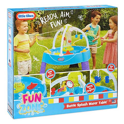 Little Tikes Fun Zone Battle Splash Water Play Table Game for Kids by Little Tikes (Image #5)