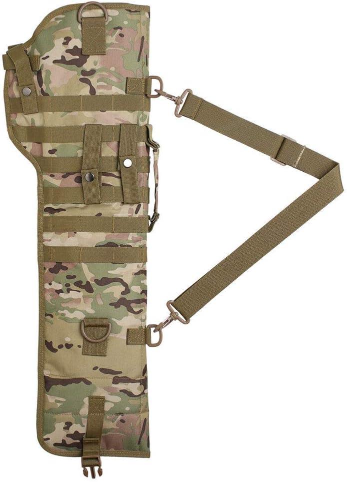 Kylebooker Funda Escopeta Airsoft Caza Rifle T/áctico Scabbard Militar