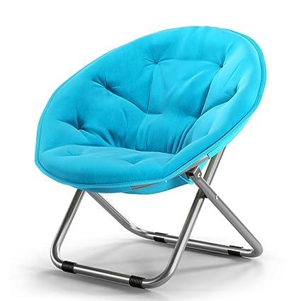 Amazon Com Lounge Chair Ynn Folding Chair Round Stool Balcony