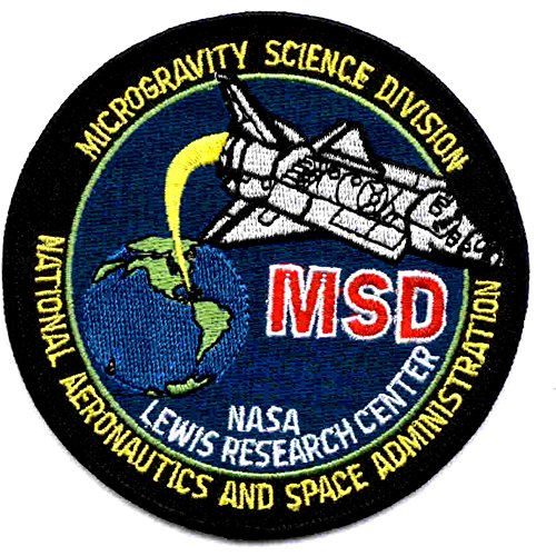 (SP-255 NASA Microgravity Science Division Lewis Research Center Patch)