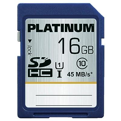Bestmedia SDHC 16GB 16GB SDHC UHS Clase 10 memoria flash - Tarjeta de memoria (16 GB, SDHC, Clase 10, UHS, 45 MB/s, Azul)