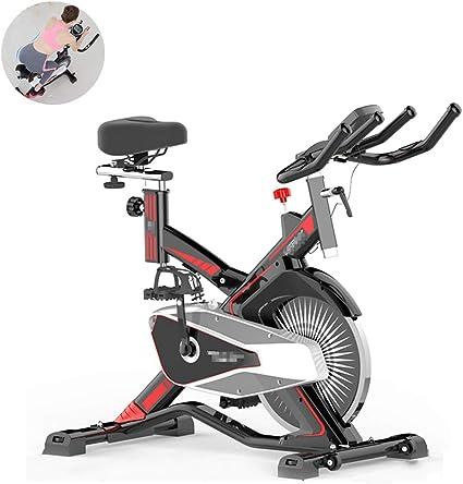 XULONG Bicicleta de Spinning, Interior y Exterior, para Ejercicio ...