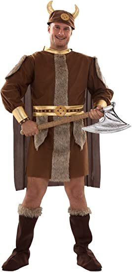Disfraz de Vikingo Talla XL: Amazon.es: Juguetes y juegos