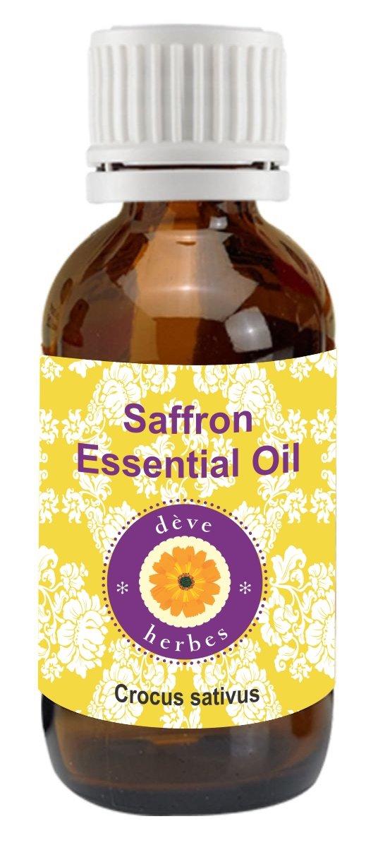 dève Kit para puro aceite esencial de azafrán (Crocus Sativus) 100% natural (grado Terapéutico, 5–50ml) 5-50ml) Deve Herbes