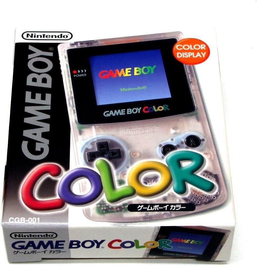 Consola Nintendo Game Boy Color Transparente Clear